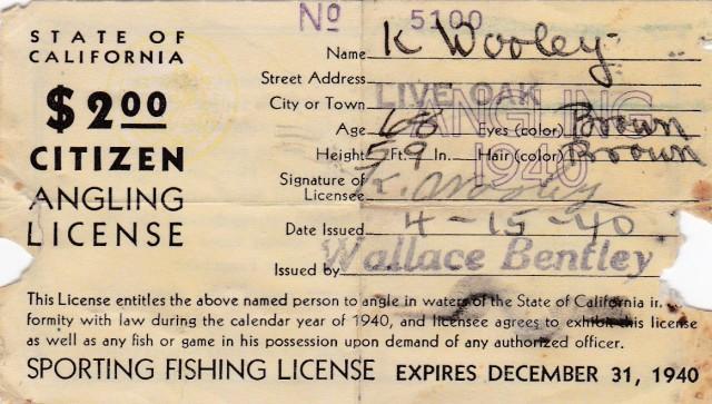 F_G License 1940